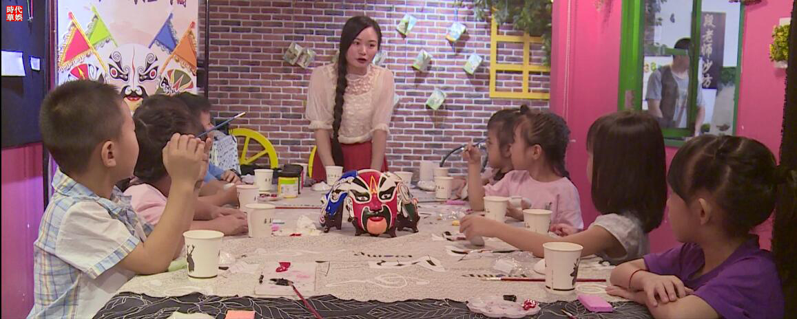 深圳时代华娱少儿栏目《时代宝贝》第五期时代宝贝们带我们走入了一个国粹的文化世界,他们用自己认真专注的态度听我们老师的课程。