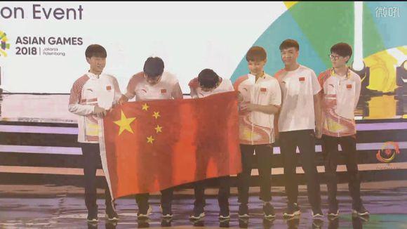 亚运会LOL决赛,时代华娱时代宝贝恭喜中国队再次抗韩成功!
