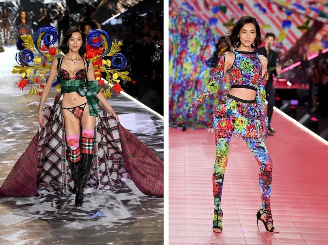 2019维密秀的刘雯翅膀展现自信 少儿模特行业却遭受到社会各界谴责